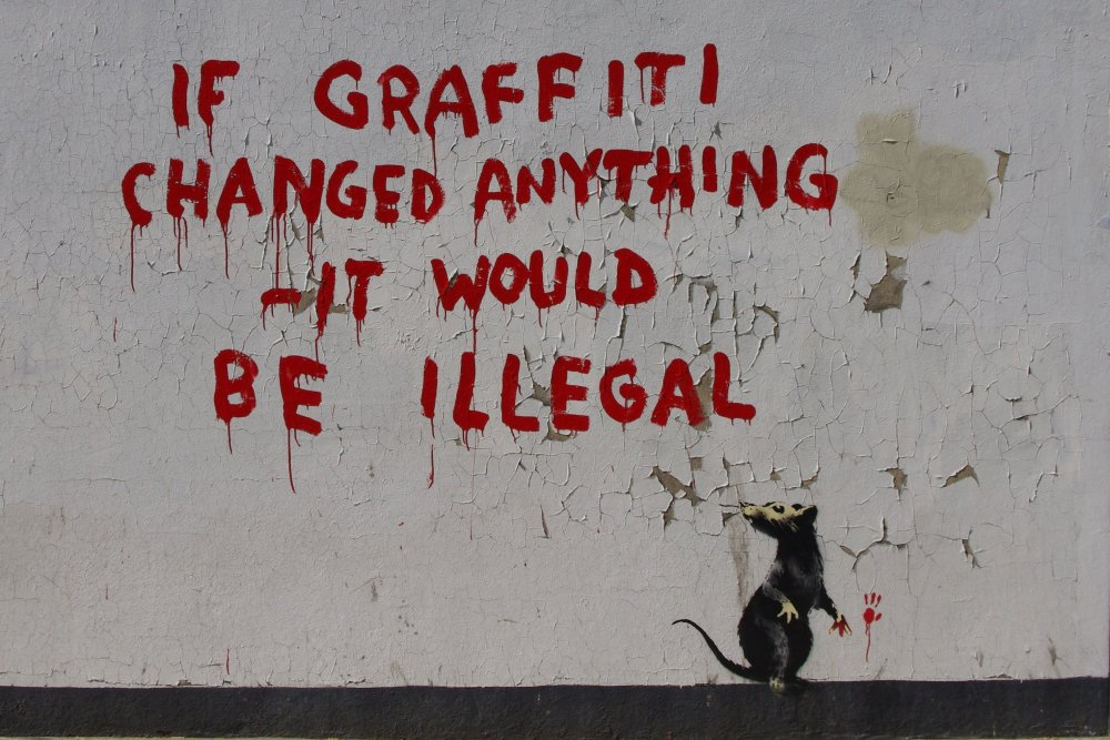 Source: http://news.fitzrovia.org.uk/2011/04/25/banksy-graffiti-fitzrovia/#prettyPhoto
